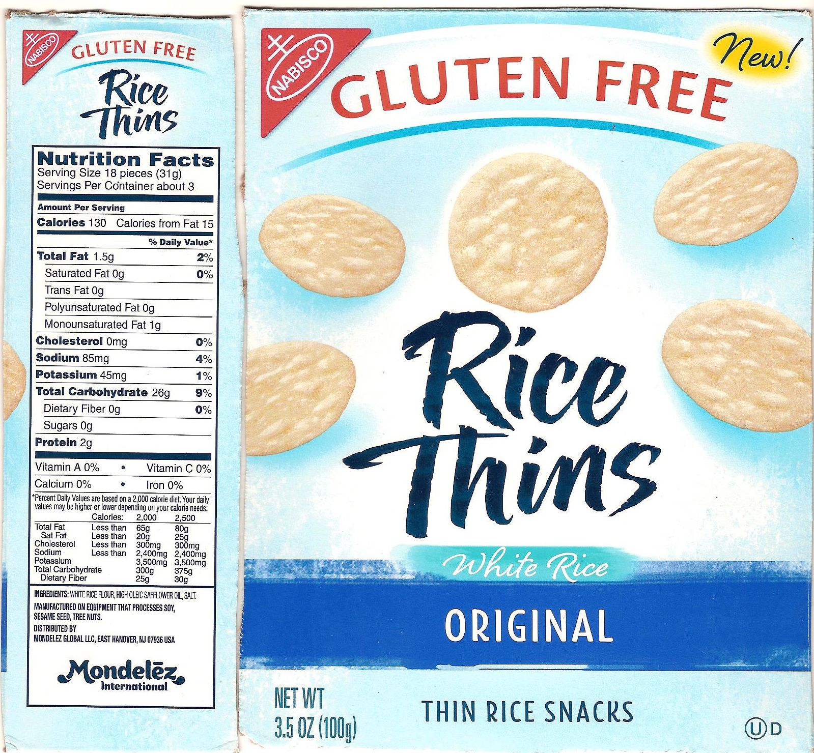 New Source For Rice Crackers